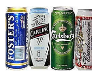 Beers In Cans Online Carling And Becks Budweiser