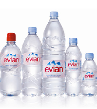 Waters Online Evian Evian Glass Volvic And Perrier